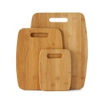 3pcs bamboo cutting board set